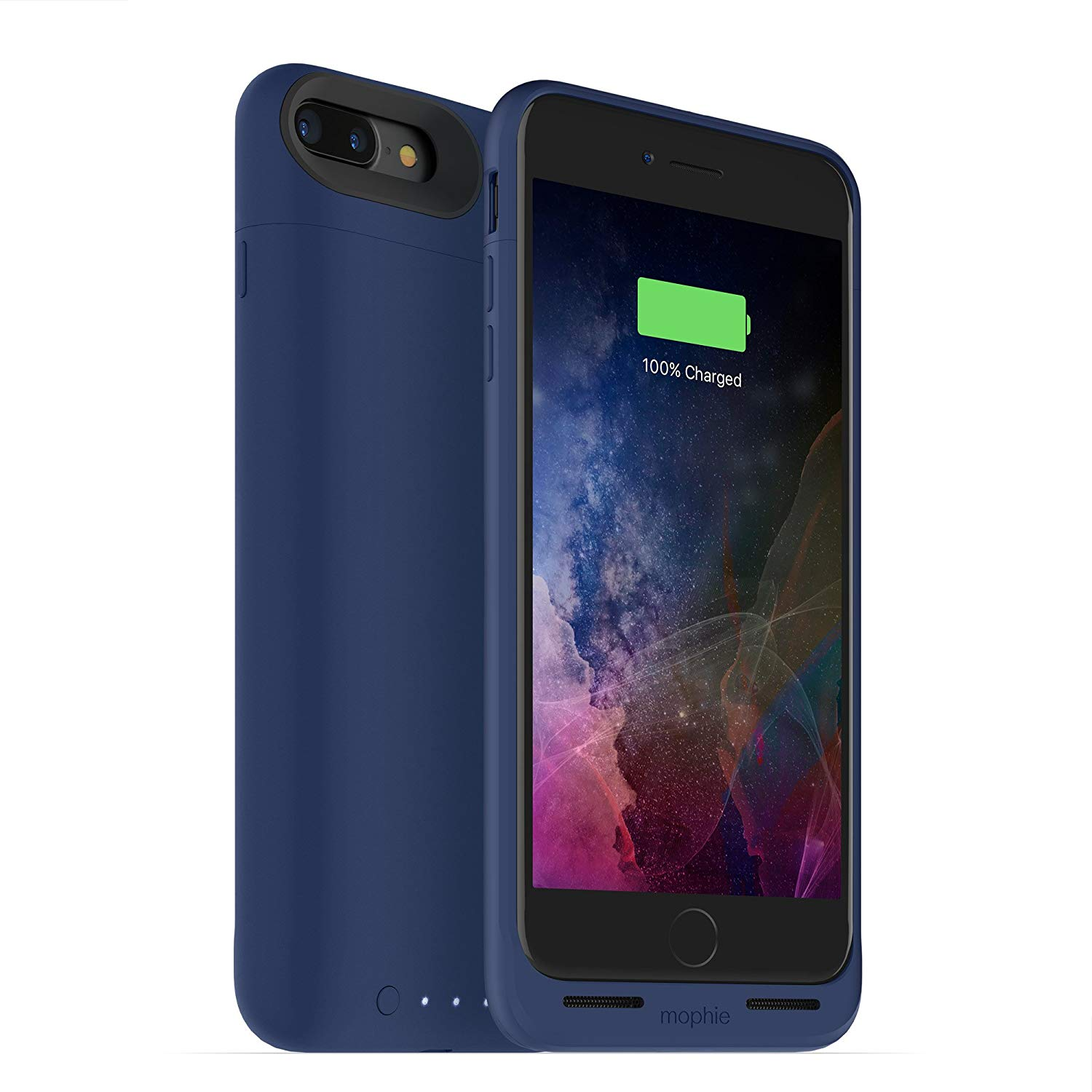 iPhone Case: mophie juice pack wireless - Charge Force Wireless Power - Wireless Charging Protective Battery Pack Case for iPhone 7 Plus – Blue