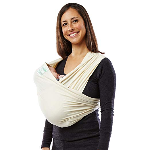 Infant Baby Carrier: Baby K'tan Original Baby Wrap Carrier, Infant and Child Sling, Newborn up to 35 lbs. Best for Babywearing (Women 6-8 (S) Men Jacket 37-38)