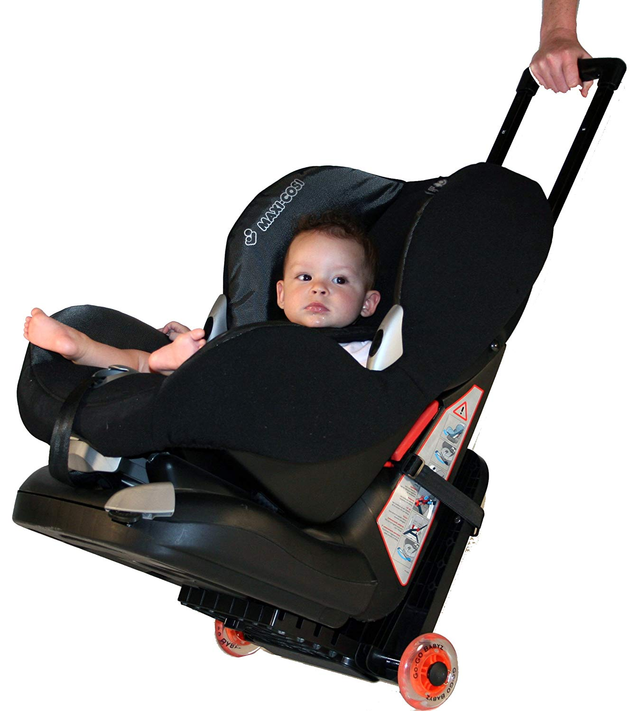 Car Seat Travel Stroller: GO-GO BABYZ TRAVELMATE Car Seat Travel Stroller for Toddler Car Seats