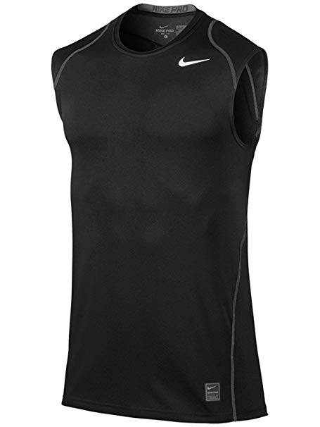 Exercise Top: Nike Men's Pro Cool Fitted S/L