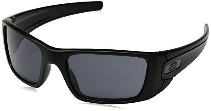 Sunglasses: Oakley Men's Fuel Cell Rectangular Sunglasses, SI Matte Black, 60.0 mm
