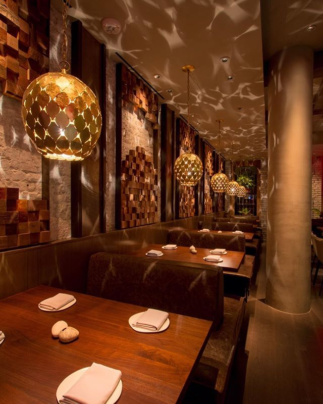 """The far-off tropics are evoked through the play of indirect, dappled light, as if filtered through jungle foliage or a carved wooden screen."" Congrats to @cedvongerichten and the @wayan_nyc team! Check out the restaurant's latest article in the @nytimes."
