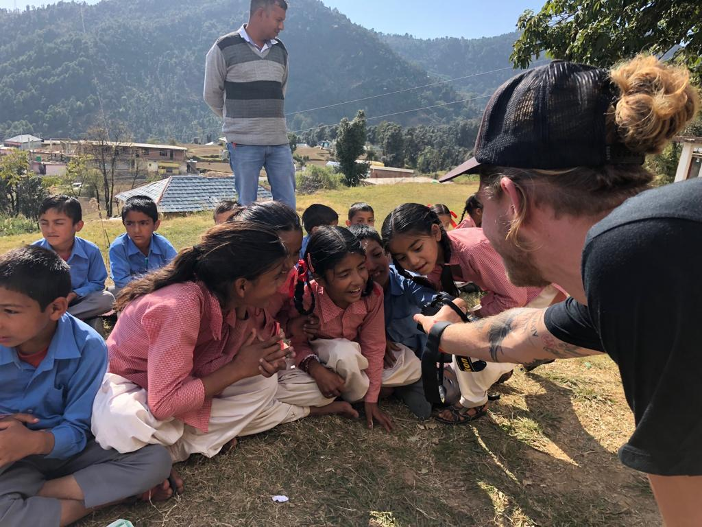 Art and Environmental Education with Kareri Village School.