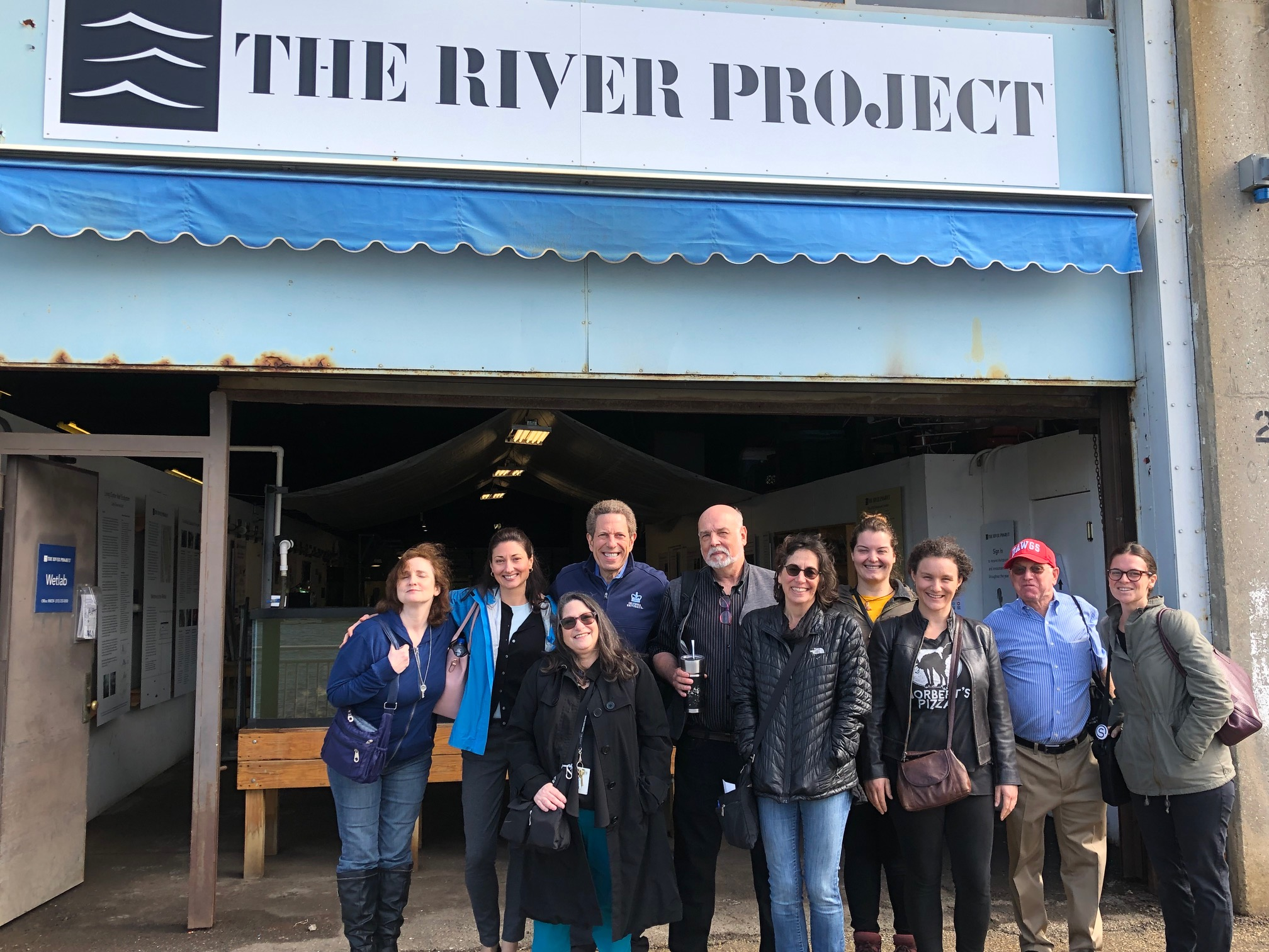 ISSP-NYC Visits The River Project's Wetlab