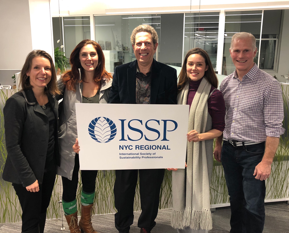 EDF Consultant & Event Chair Isabelle Silverman, Actress Mara Davi, ISSP-NYC Founder&Co-Chair Mark Wolf, Actress Megan Boone, Glen Pannell/a.k.a. Actor-Activist Mike Hot-Pence