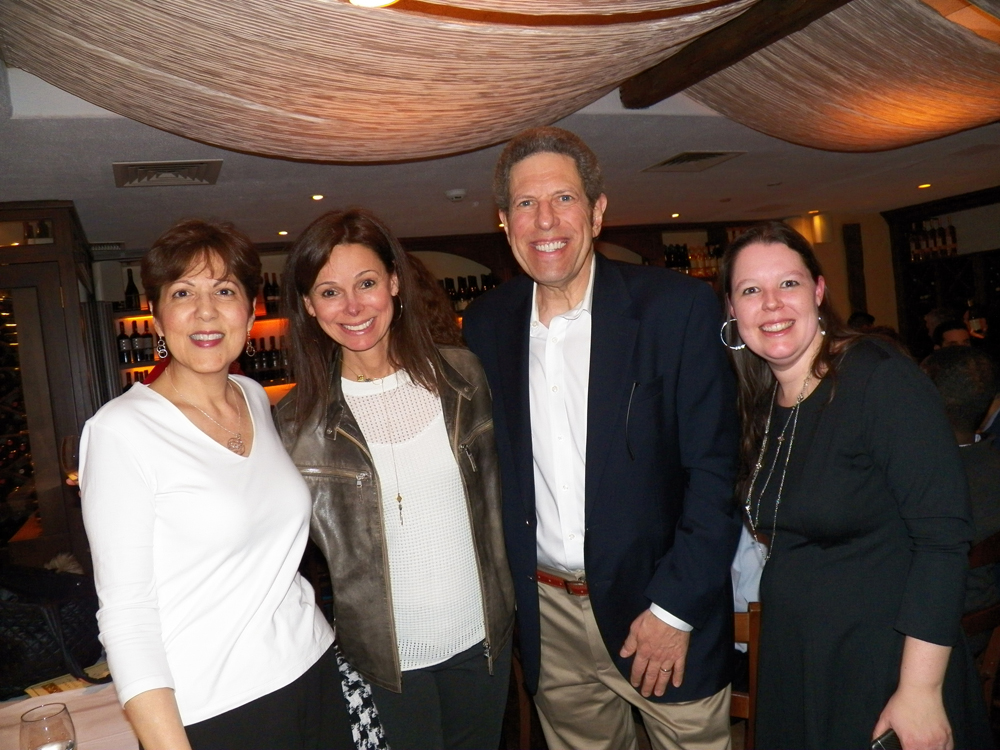 Camille Cannistraci, Tina Brodsky, Mark Wolf and Danielle Stodgill — Spring Networking Reception