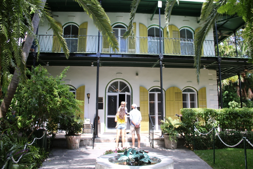 Hemingway House in Key West. Photo by Carrie Dow.