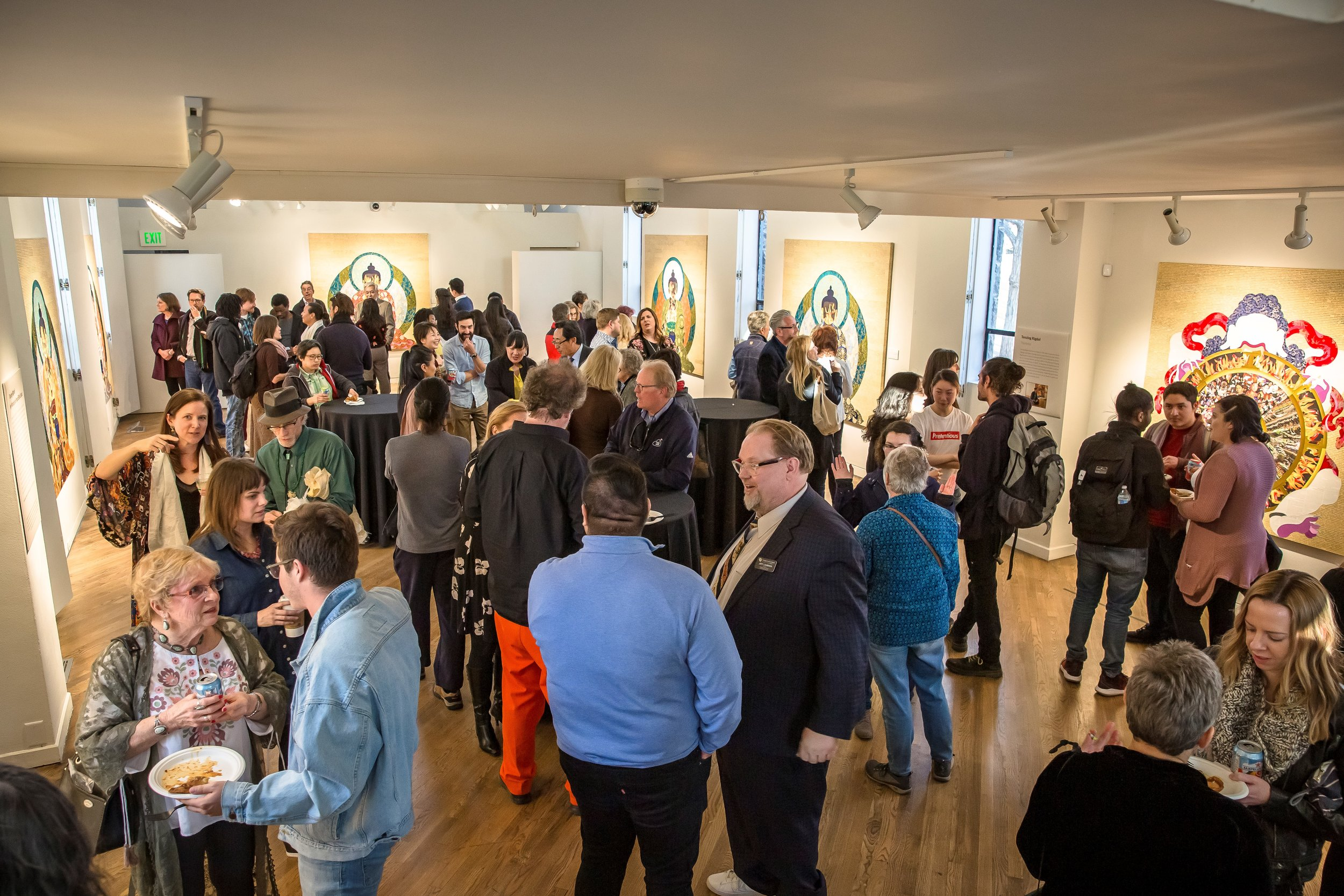 Opening of  Tenzing RIgdol: My World Is in Your Blindspot , Photograph by Robert King Photography