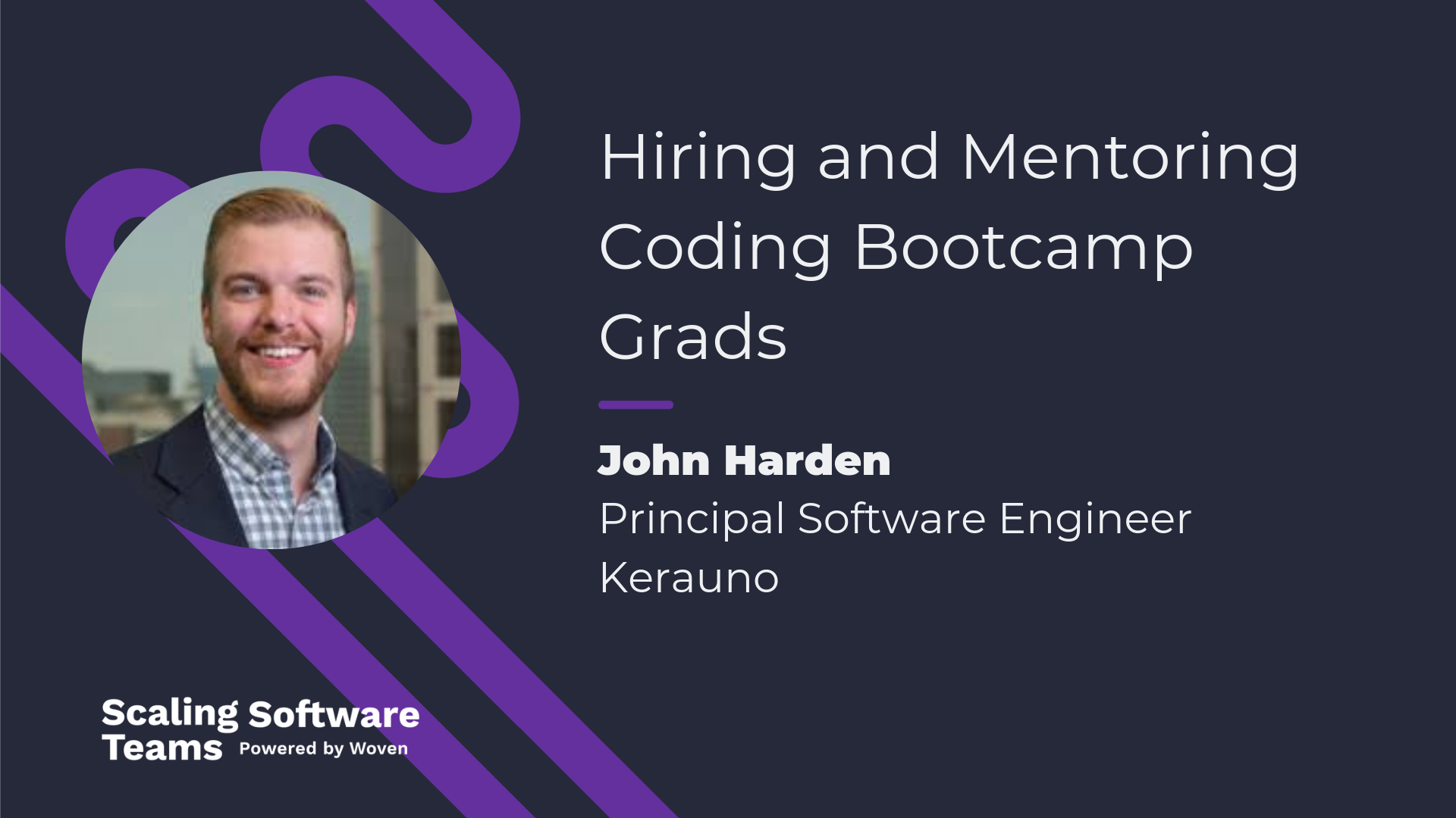 Hiring and Mentoring Coding Bootcamp Grads, With John Harden