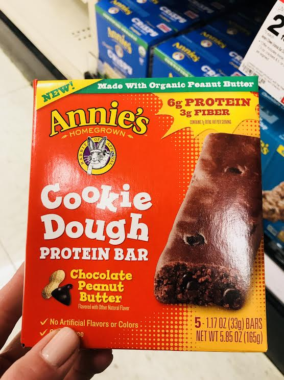 Annie's Protein Bar - As with all Annie's products, you can expect higher quality ingredients. I don't love how long the ingredient list is for a food targeted at kids. There is a good amount of protein, but there are better ways for kids to get that dose of protein, say a yogurt? The kids thought the taste was so so. (Note: produced in a facility with many allergens)