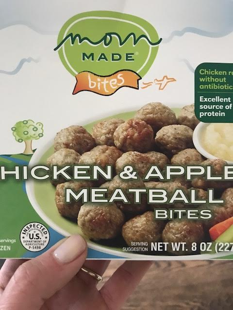 Mom Made Chicken & Apple Meatball Bites - 4.5* These little meatball bites are a definite win. While not organic, they are made with chicken without antibiotics and a good ingredient list with nothing artificial. And, they are of course packed with protein. In comparison to the amount of food you get, these were a better price than some of the other frozen meals we tried out. There were several ways to make these, but I made them on the stove which was quick and easy. The children who sampled these ranged from 1 - 10 and I got an almost unanimous liking on these. (I did not on most other meals). A bunch of grown-ups also tried and thought they were really good. For a frozen meal, the sodium content is very reasonable. These are perfect to serve with pasta as a win for parent and child.