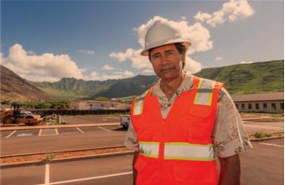 Kali Watson, President and CEO, Hawaiian Community Development Board   photo by EUGENE TANNER