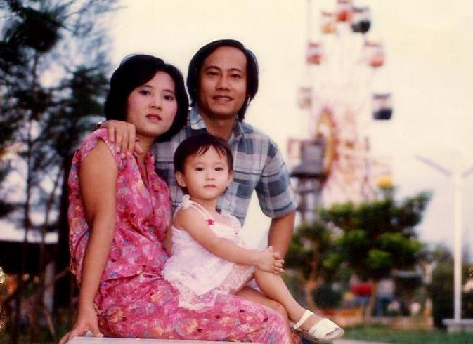 My family in Ho Chi Minh