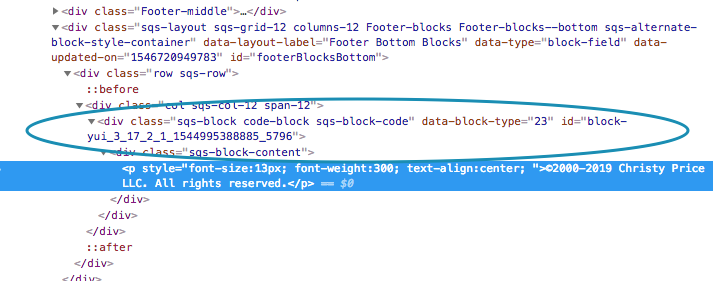 inspecting source code on Chrome