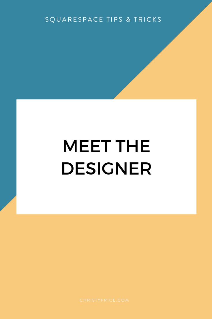 Meet Squarespace Designer Christy Price