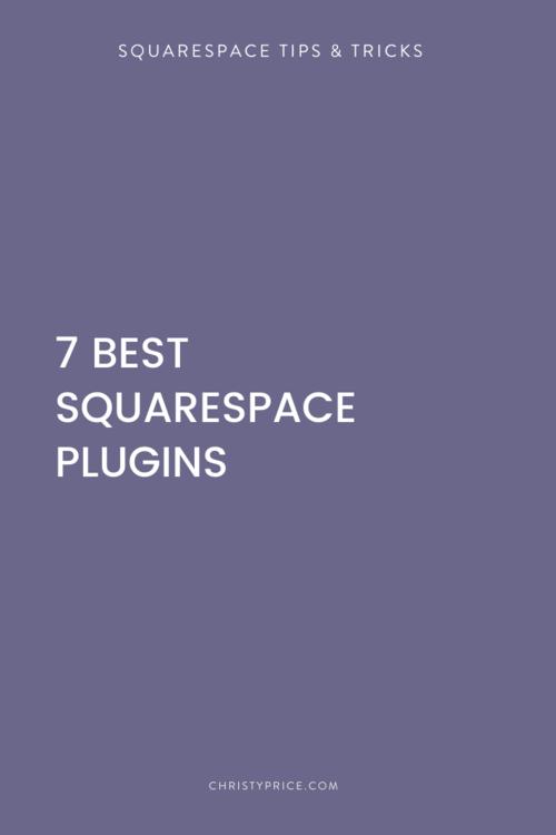 Squarespace Tips Tricks Squarespace Web Design By Christy Price Austin Texas