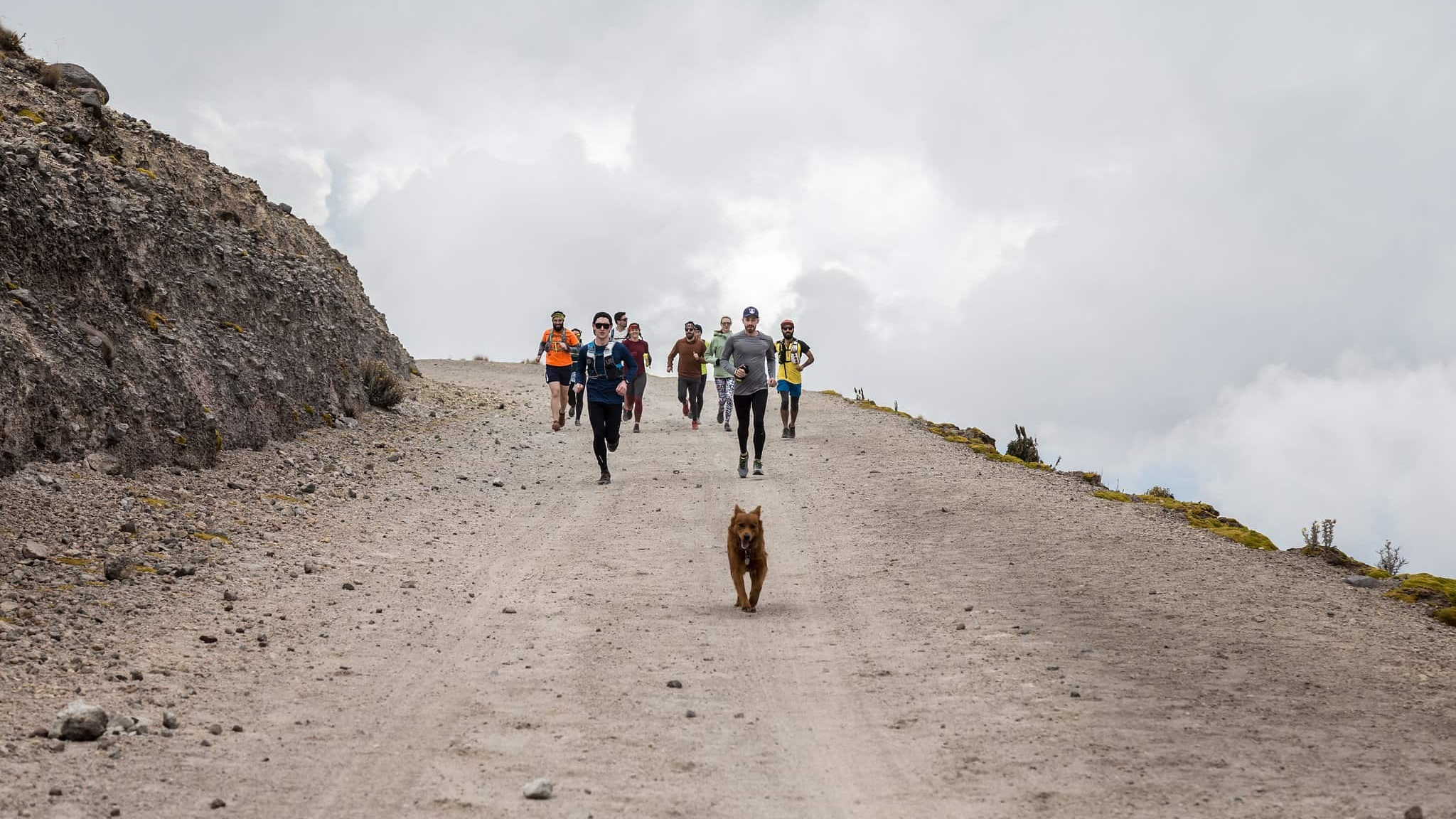 Mexico City valcano running getaway