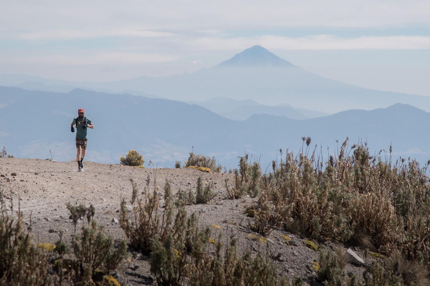 Mexico City volcano running getaway