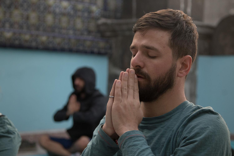 Mexico City meditation running getaway
