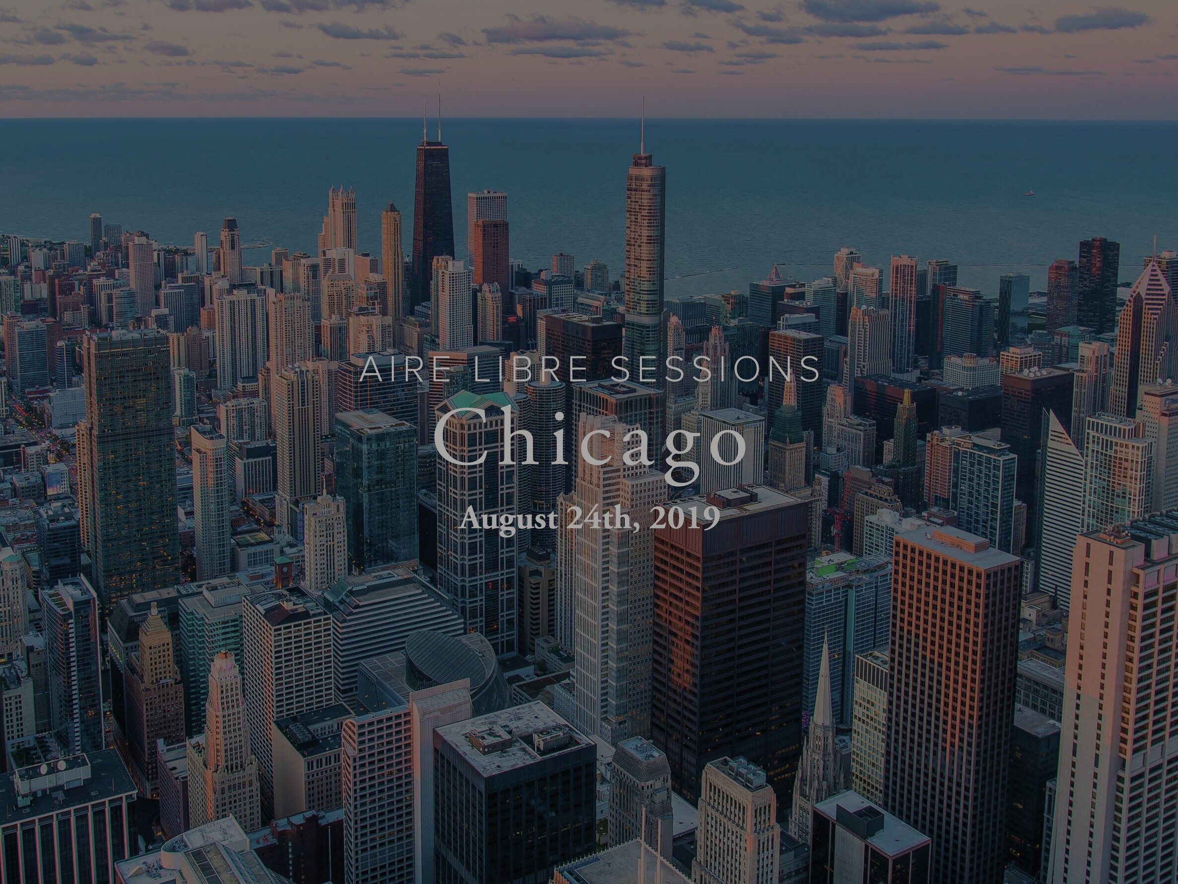 Aire Libre sessions: Chicago - (This event has passed)