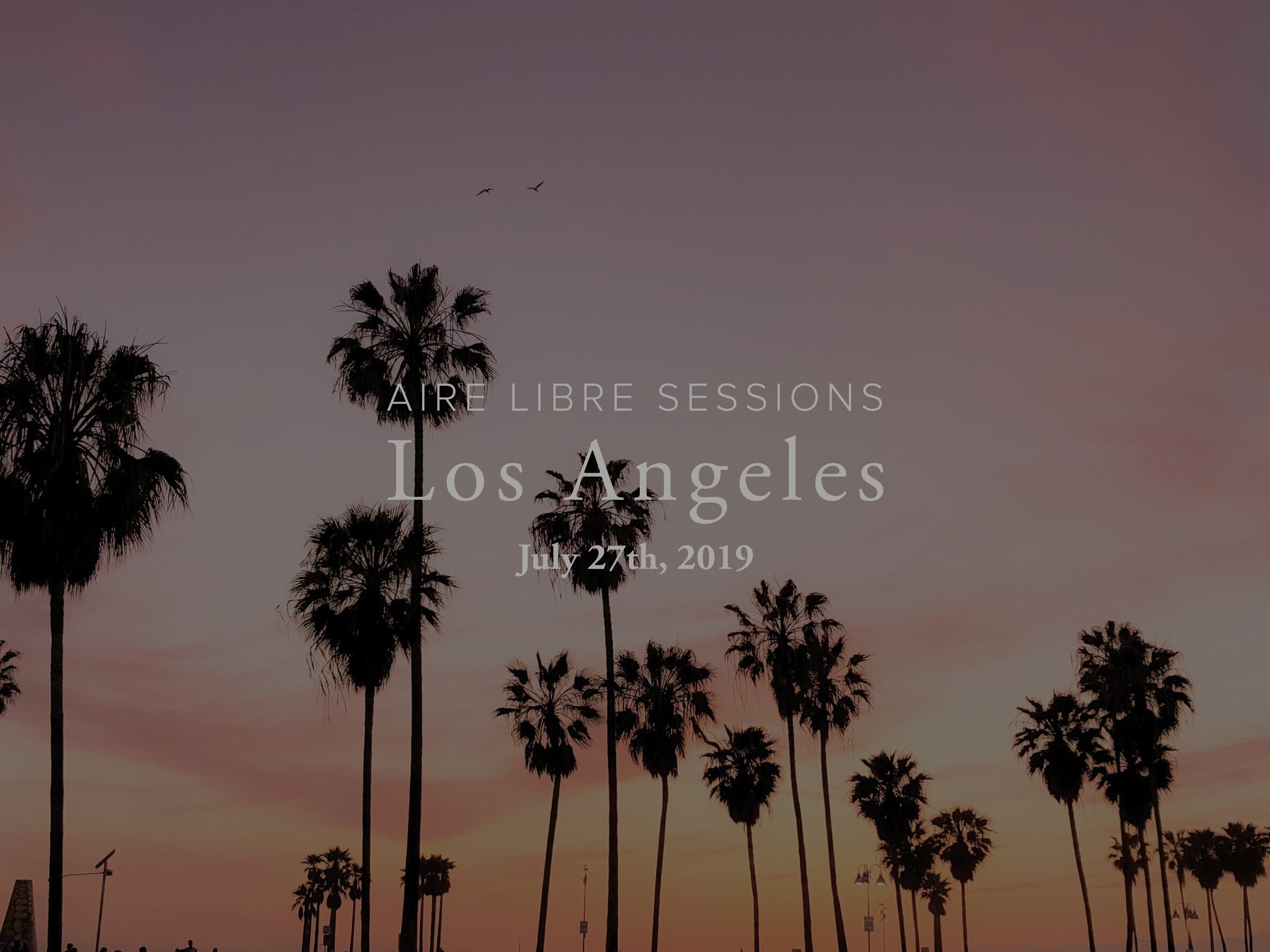 Aire Libre Sessions: l.A. - (This event has passed)