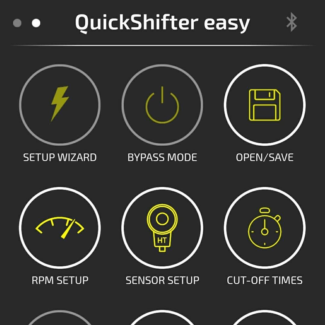 Healtech Quickshifter easy app