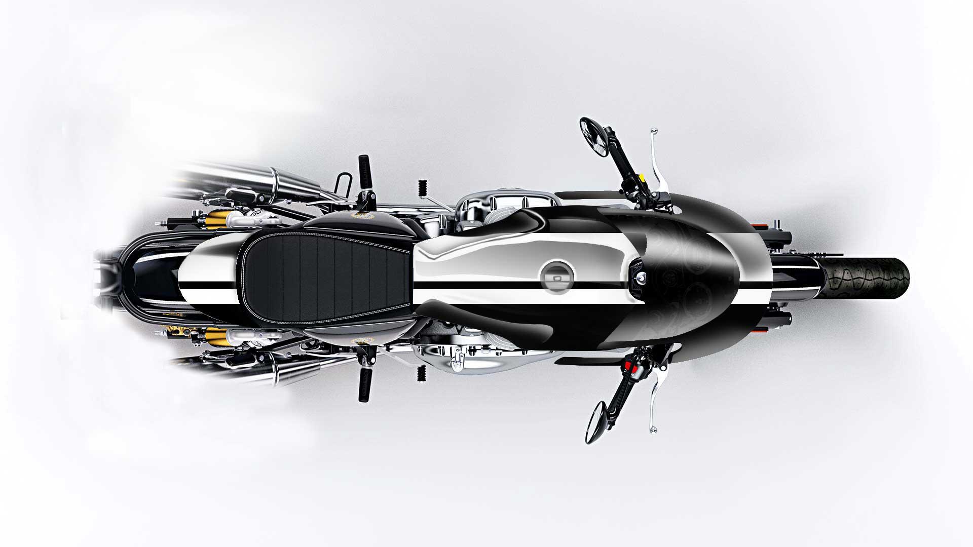 Royal Enfield Gungnir Concept Design 1