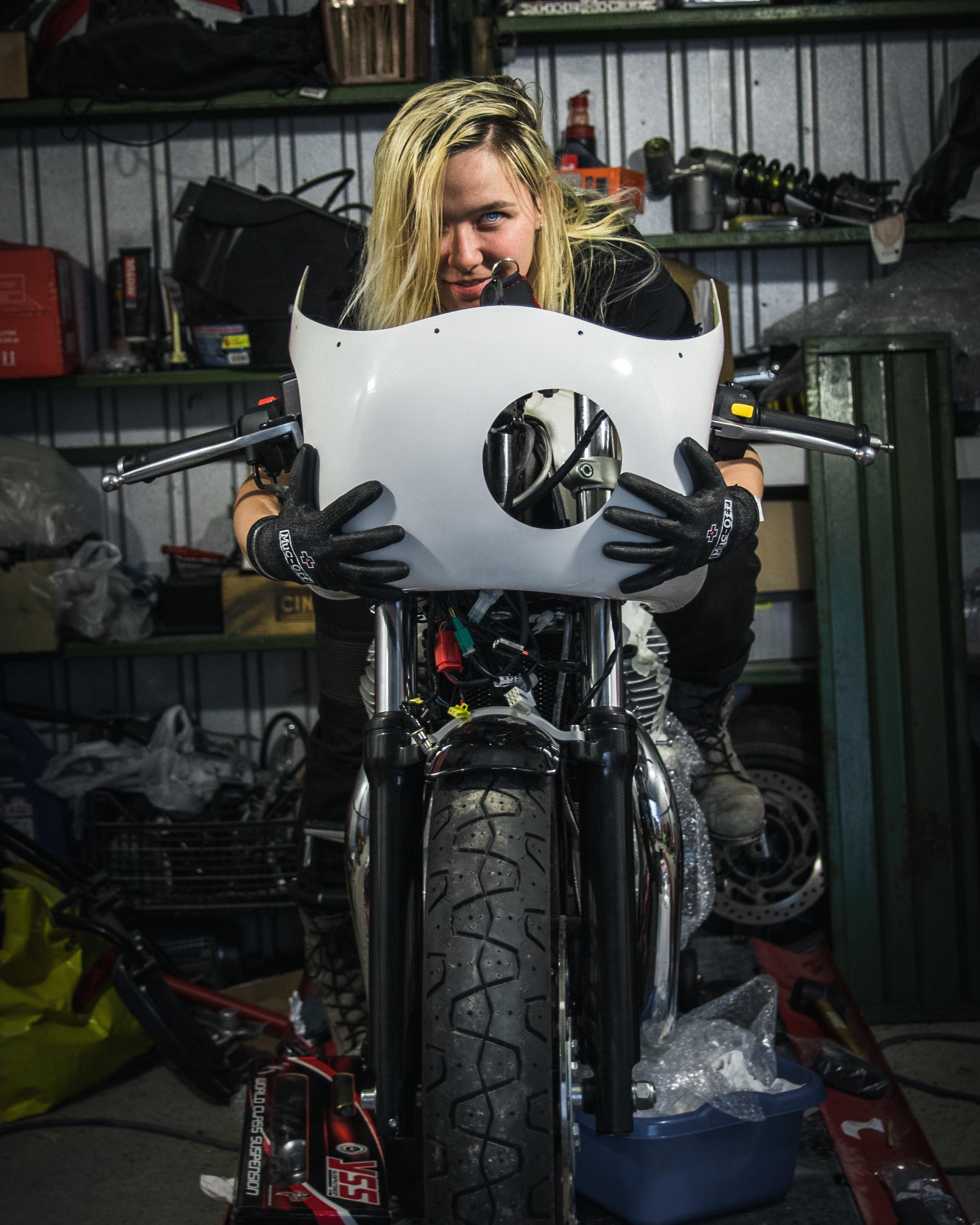 Royal Enfield Gungnir motorcycle Norse Mythology