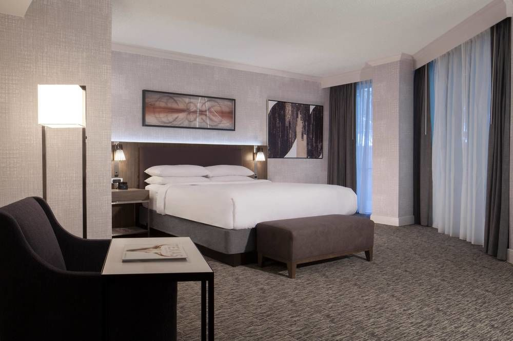 Hotel Room - Do you want to stay close to all of the action and not have to drive each morning?Stay at the Dallas Marriott City Center with our group link below!