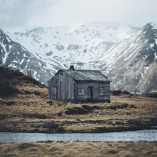 Tucked away in the artic wilderness. Photo: @hannes_becker #takeactionfilms