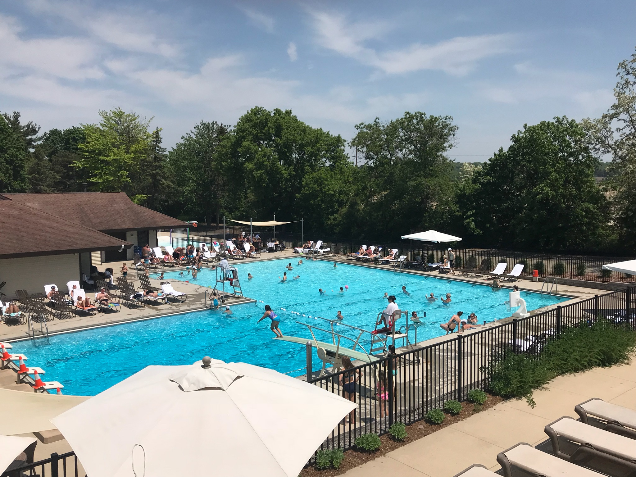 """Life Guarding with Swim Coach, Katie Clarin - The pool at BCC is the place to be from Memorial Day to Labor Day. Join the life guarding team and enjoy days in the sun keeping an eye on our """"members in training"""