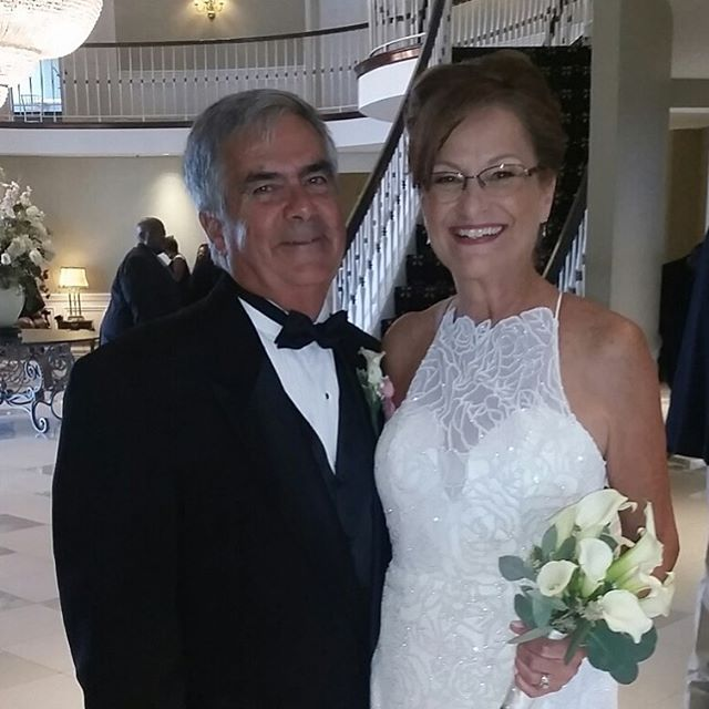 One part of our job is that we get to be a part of our client's special day!  This is our amazing bride Nancy.  Congratulations. To you on your wedding day!  You looked beautiful! -special occasion hair by Shae and Make-up by Laura  #weddinghair #weddingmakeup #specialoccasionhair #specialoccasionmakeup #beauty #weddingdaymakeup #weddingdayhair