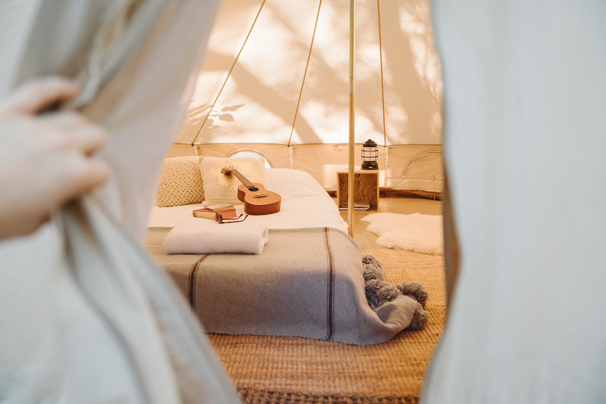 - TENT SIZE