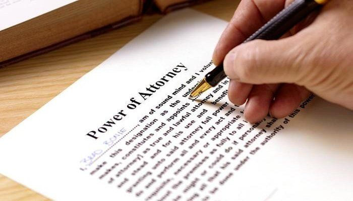 Power of Attorney Maryland