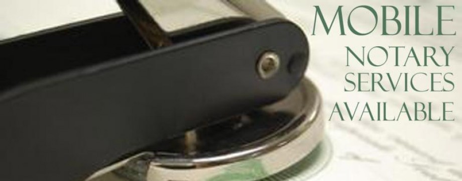 Mobile Notary Services in DC Maryland & Virginia