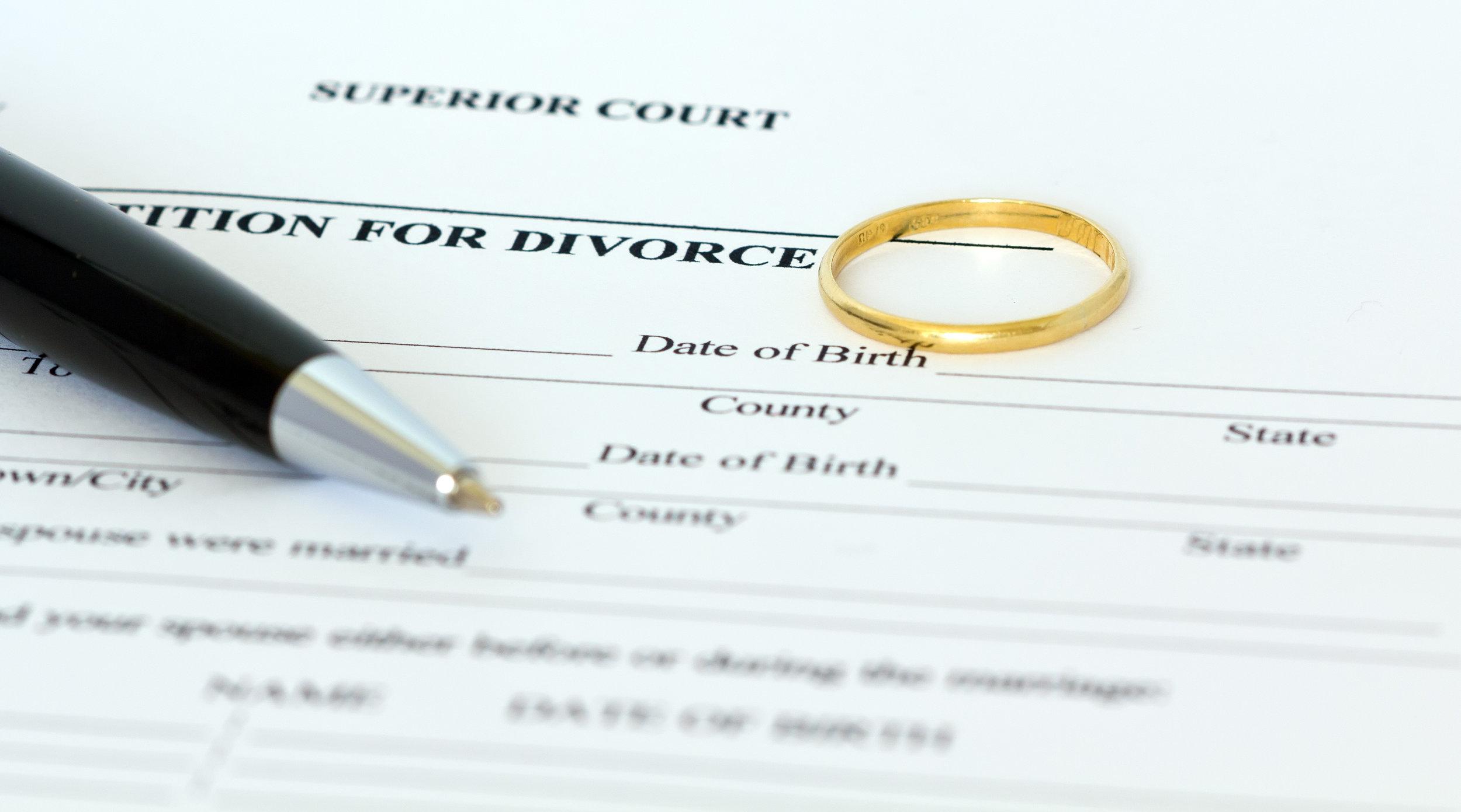 File for Divorce DC Maryland Virginia