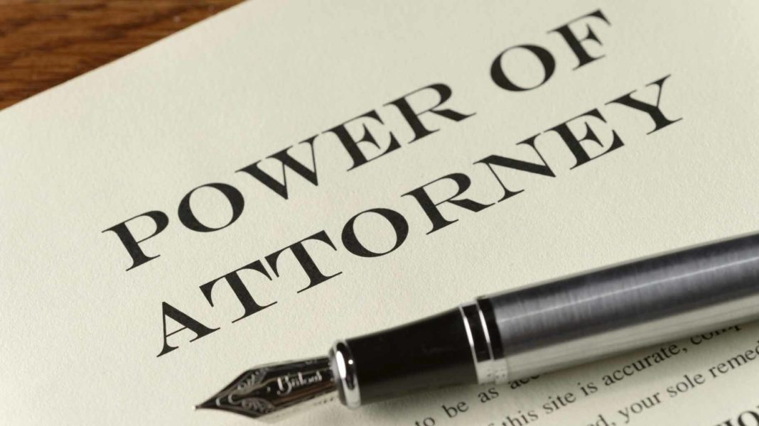 Notarizing Power of Attorney Documents