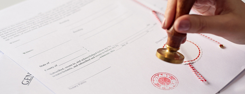 Notary for Divorce Papers