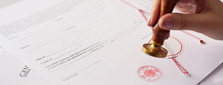 Divorce Notary