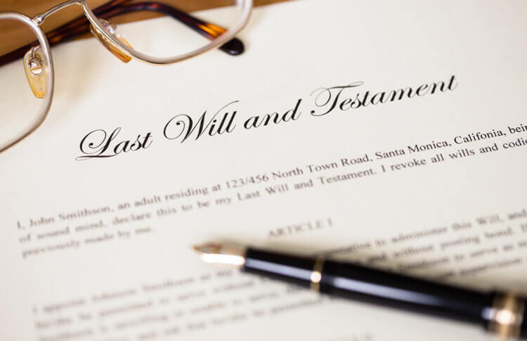 Notarizing a Will