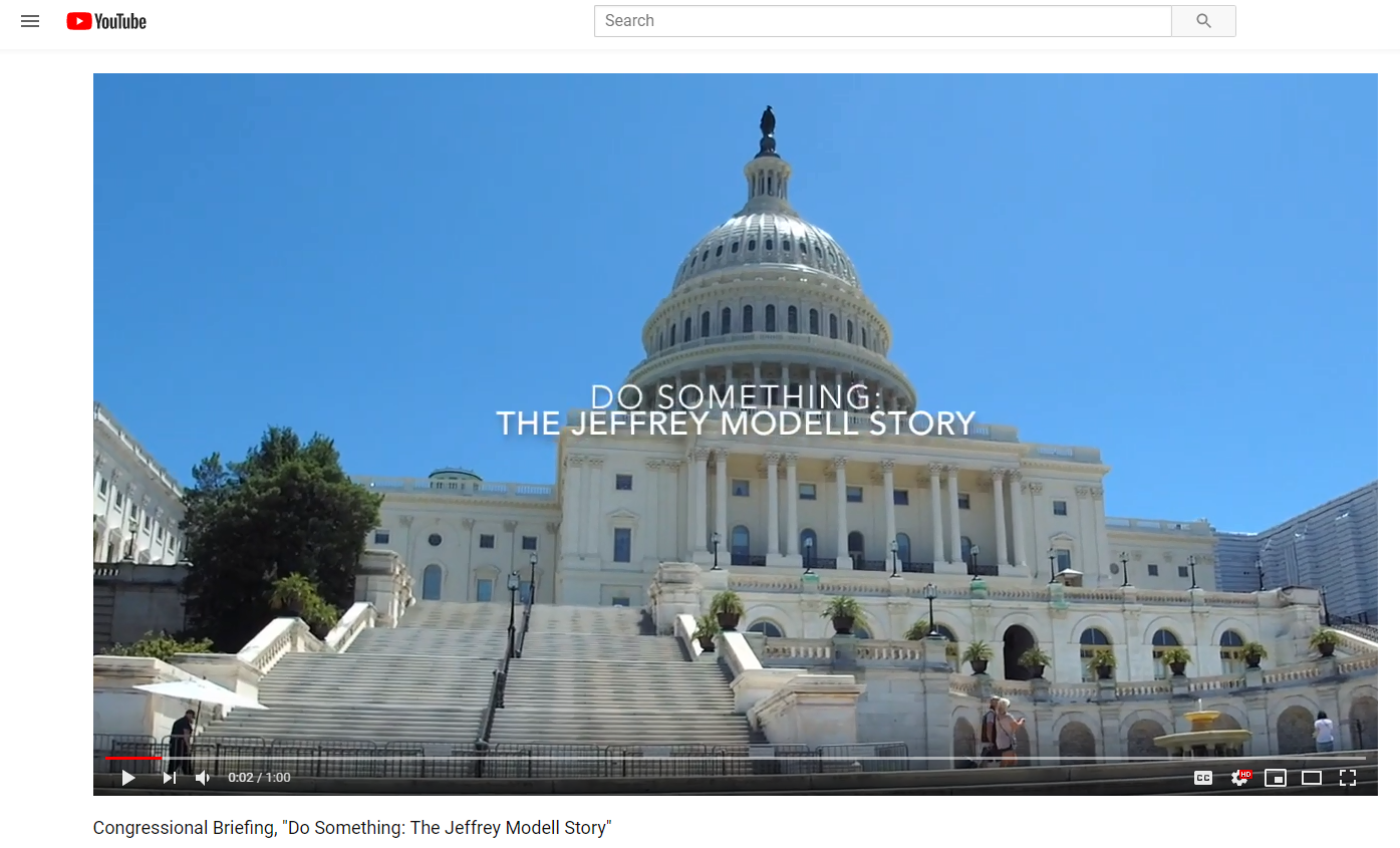 View a one-minute highlights video from the premiere screening of  Do Something: The Jeffrey Modell Story