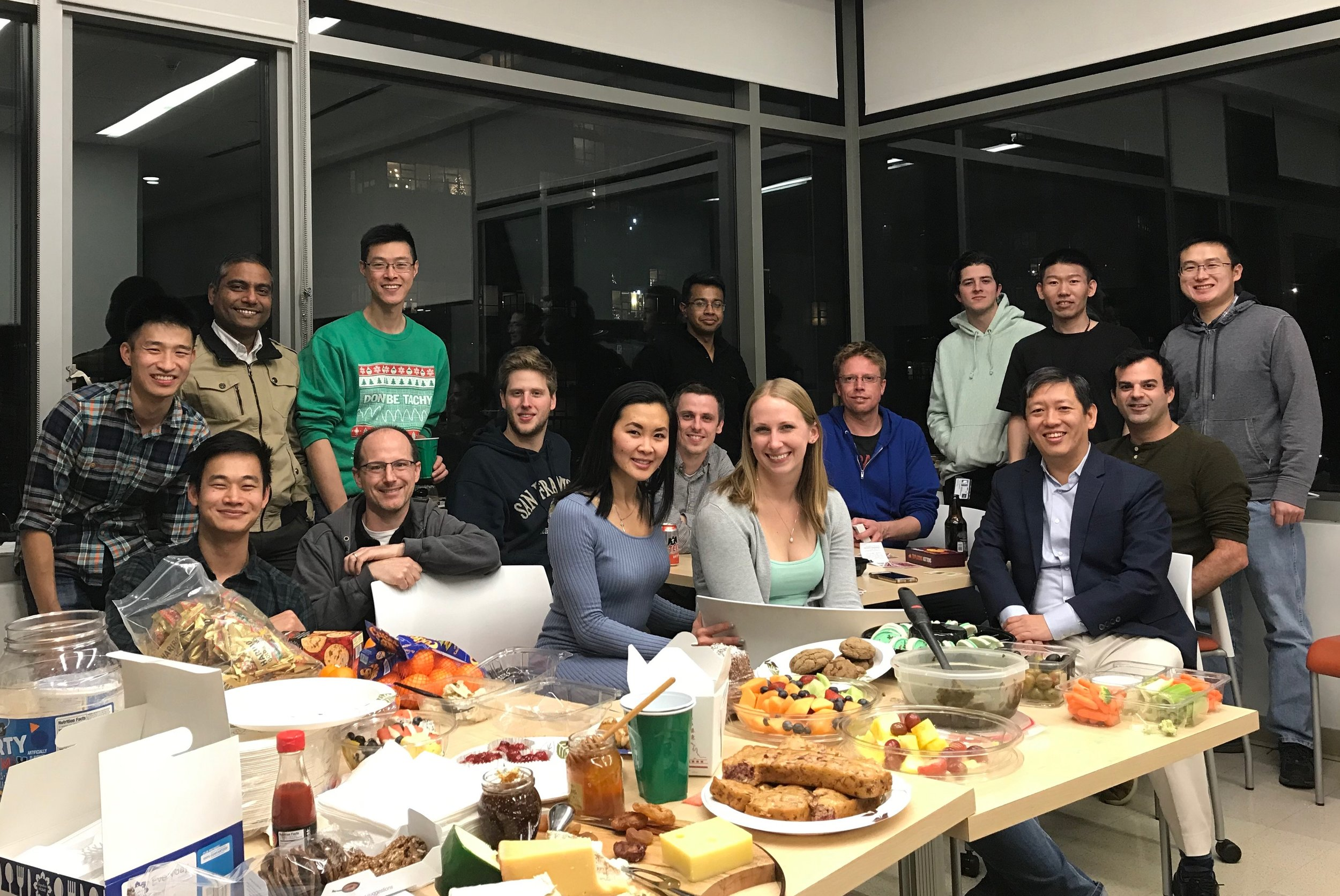 Gilbert and Feng lab holiday party - 12/13/2018