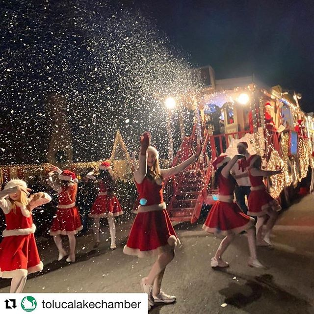 #Repost @tolucalakechamber with @get_repost ・・・ Last night festivities! #tolucalake #chamberofcommerce #tolucalakechamber #holiday #christmaseve #happyholidays #repost @dawngarcia