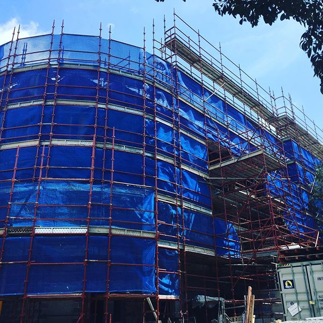 Taronga Zoo job for Taylor Constructions  #ABCscaffolds #scaffold #scaffolding #scaffoldhire #scaffoldwork #construction #building #built #scaffoldbuilder #loveyourjob #hardwork #scaffy