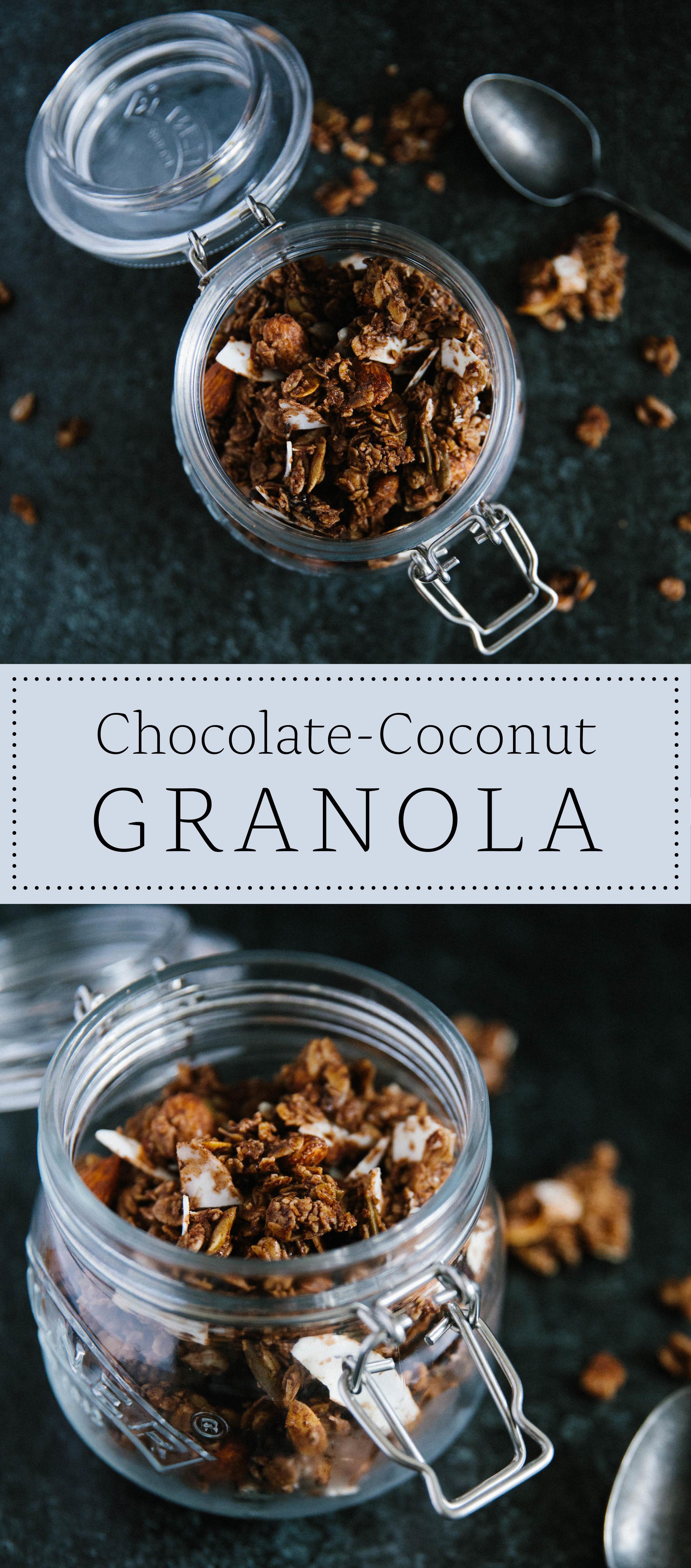 chocolate coconut granola recipe