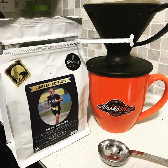 #atowncoffeeroasters coffee in my #akxtri mug.