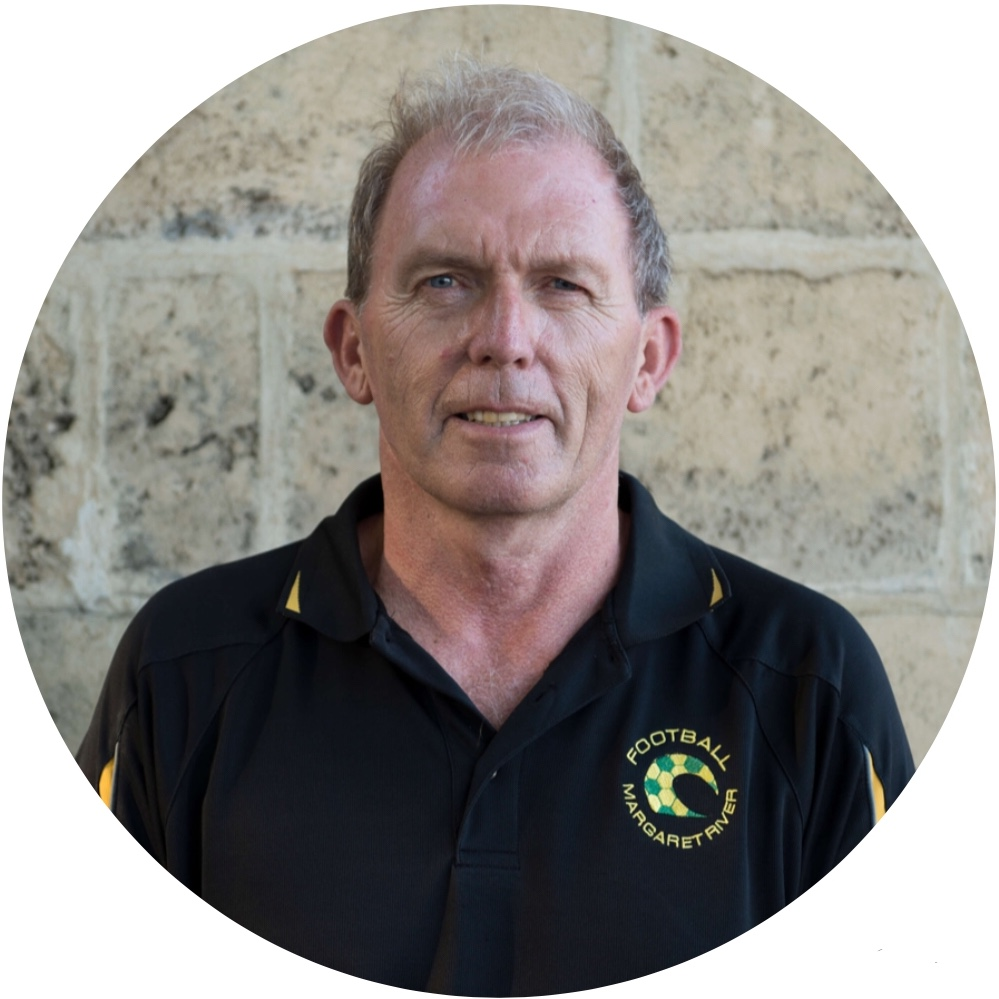 Paul Brown — Chairperson   e:      chair@footballmargaretriver.club    t: 0417 967 591