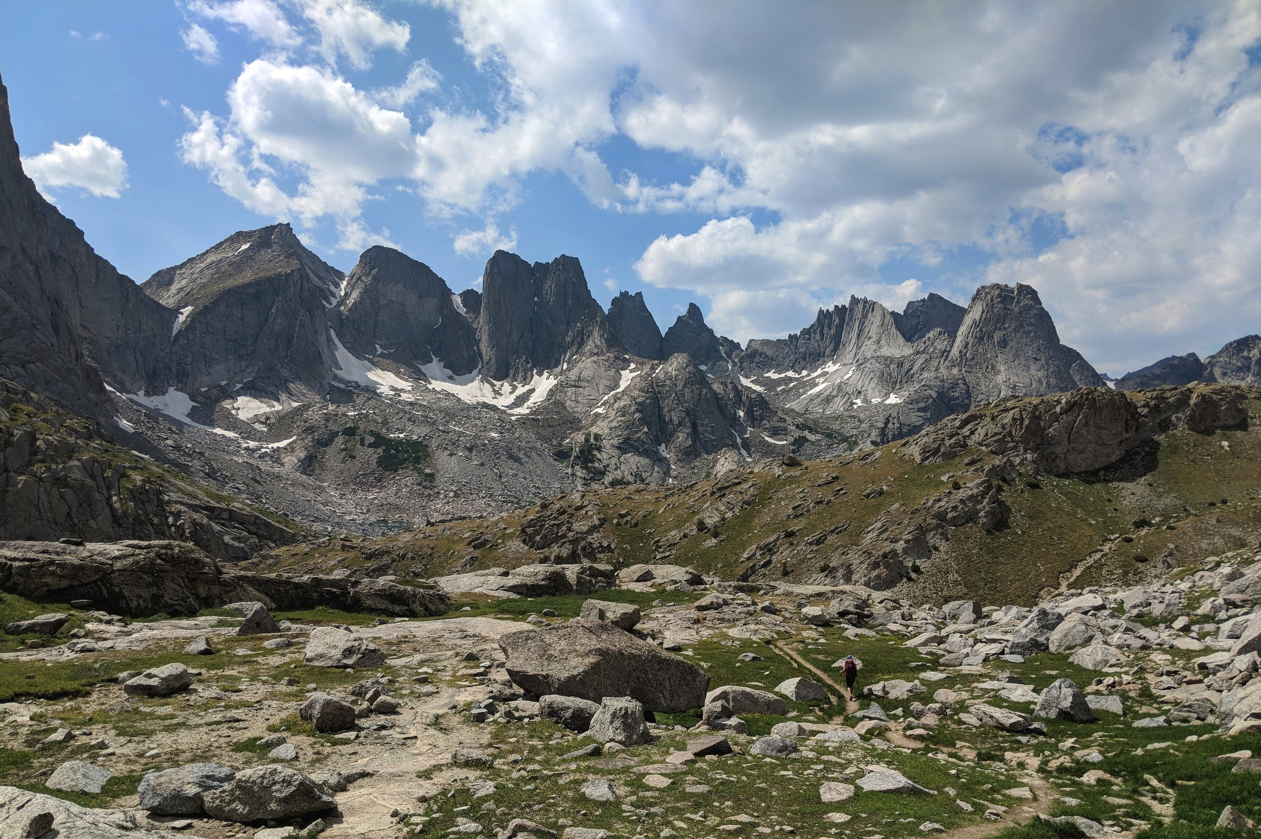 The Wind River High Route -
