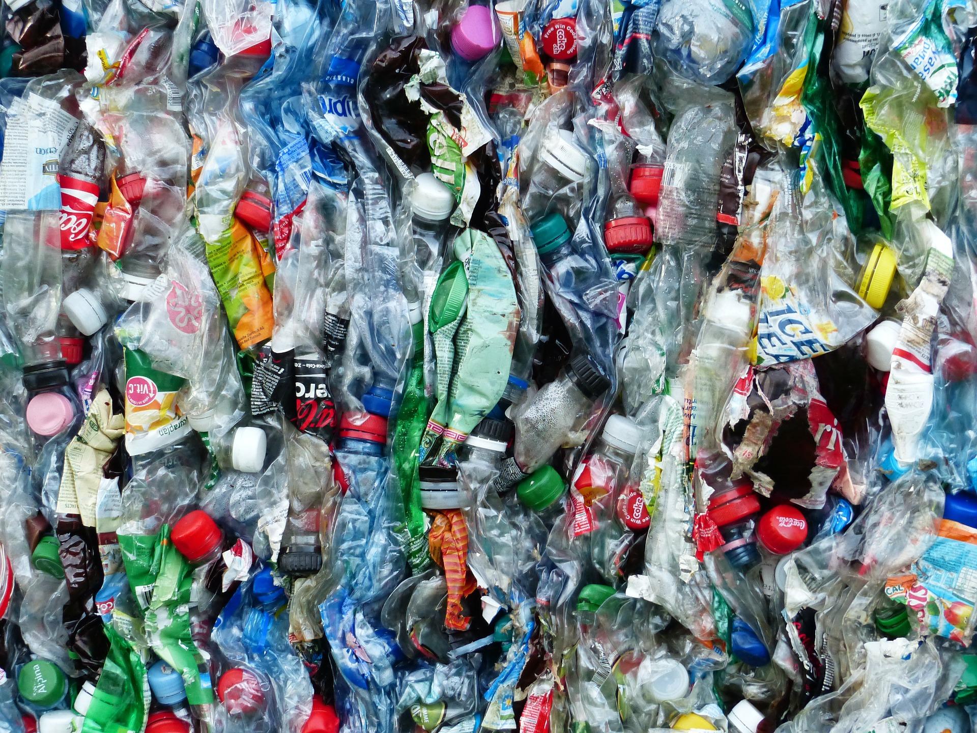 plastic bottles photo by Hans Braxmeier