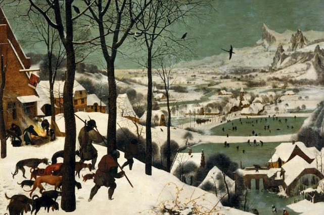 bruegel-hunters